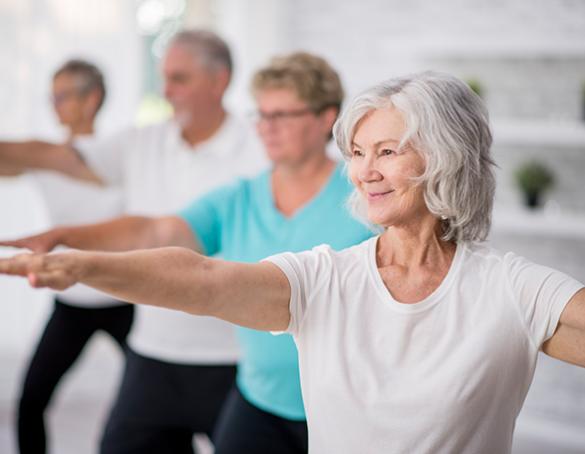 Senior Citizens Yoga